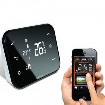 cronotermostatul de ambient este obligatoriu la centrala termica. Poza 24