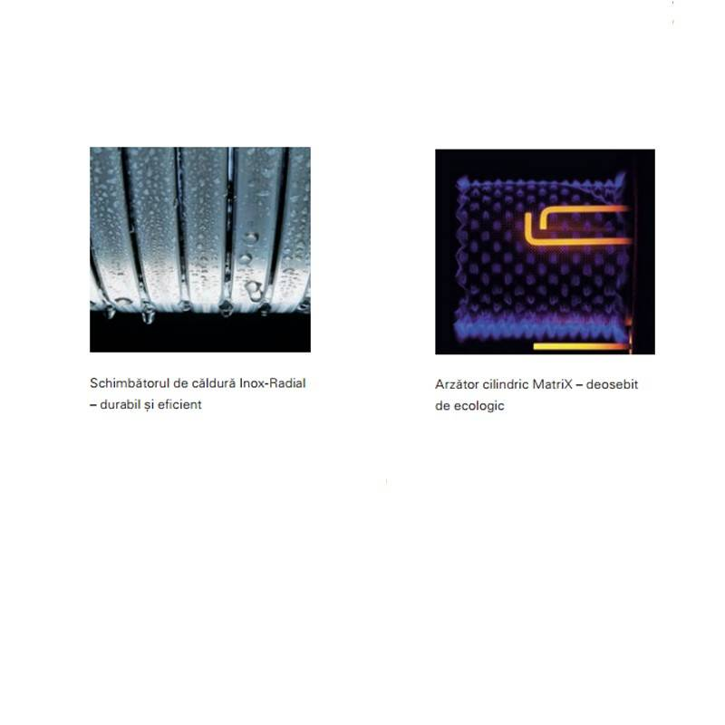 Poza Componente interne centrala termica in condensare Viessmann Vitodens 200-W, Vitotronic 100 HC1B
