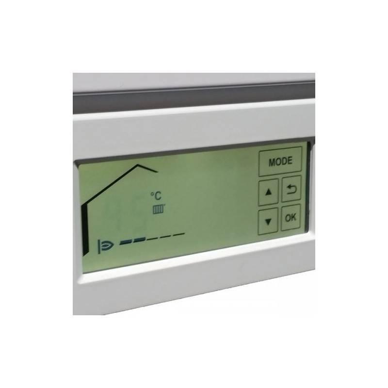 Poza Display  centrala termica in condensare cu touchscreen Viessmann Vitodens 100-W 35 kw combi B1KC157