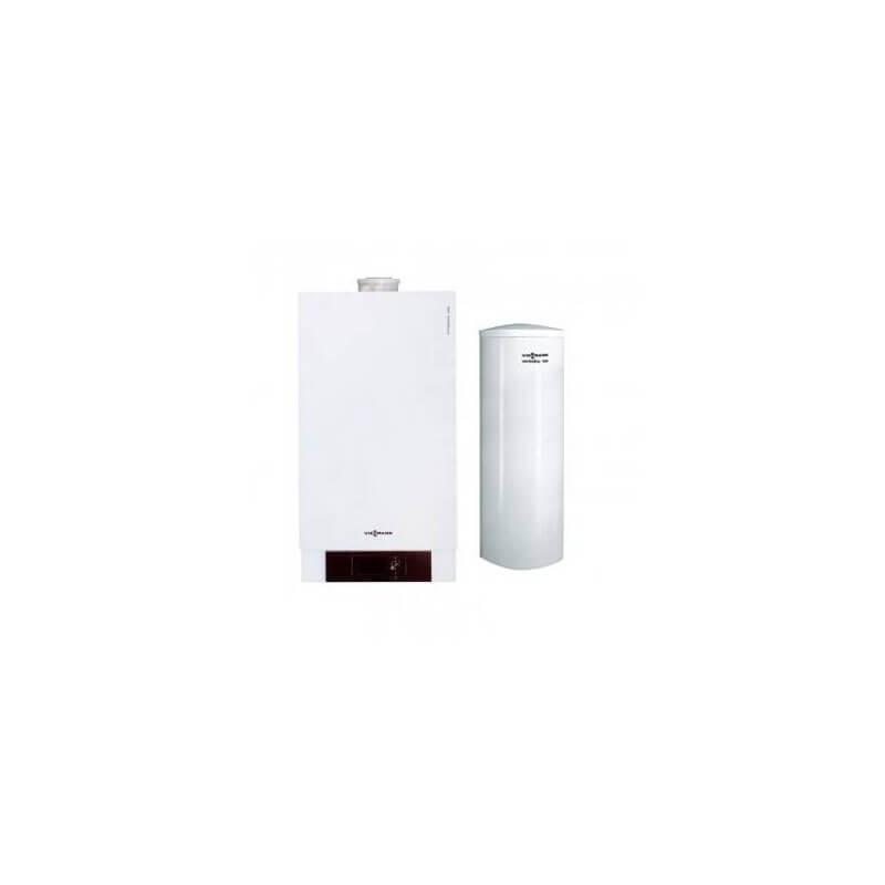 Poza Pachet centrala termica in condensare Viessmann Vitodens 200-W 26 kW cu boiler Vitocell 100-W 200 litri. Poza 4707