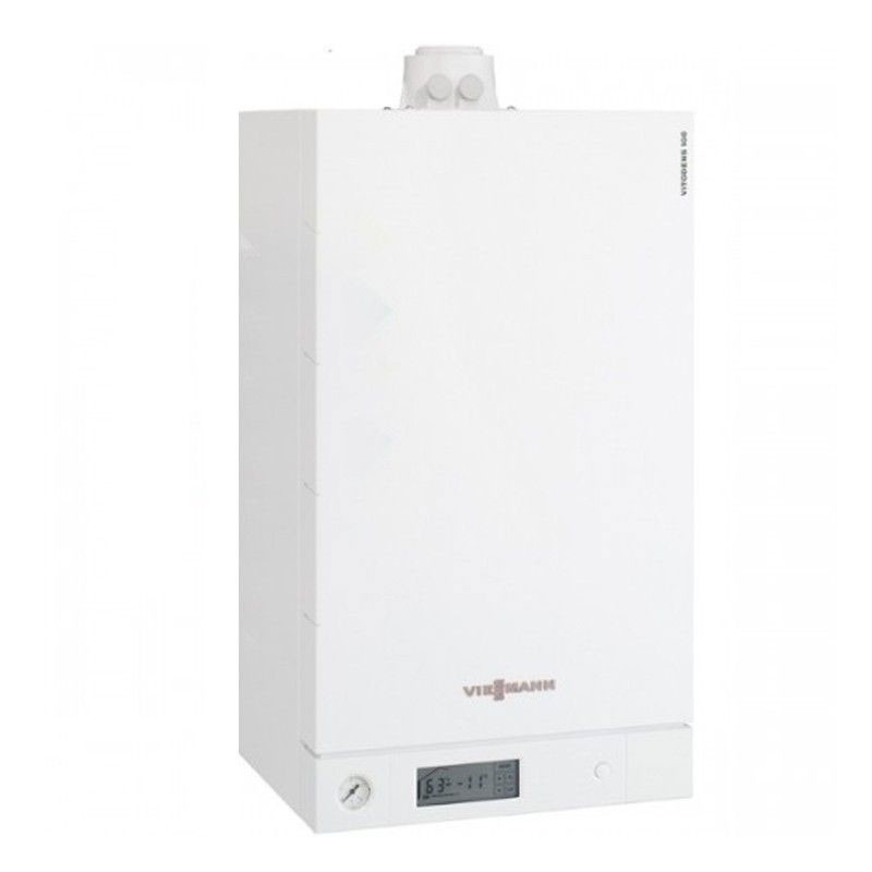 Poza Centrala termica in condensare cu touchscreen Viessmann Vitodens 100-W 35 kw B1HC179 numai incalzire. Poza 4773