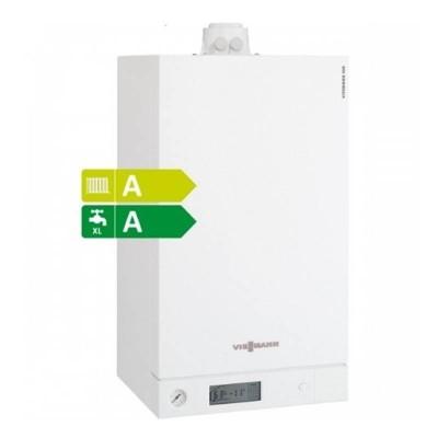 Poza  Centrala termica in condensare cu touchscreen Viessmann Vitodens 100-W 35 kw combi B1KC157