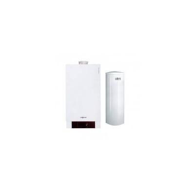 Poza Pachet centrala termica in condensare Viessmann Vitodens 200-W 35 kW cu boiler bivalent Vitocell 100-W 300 litri. Poza 4709